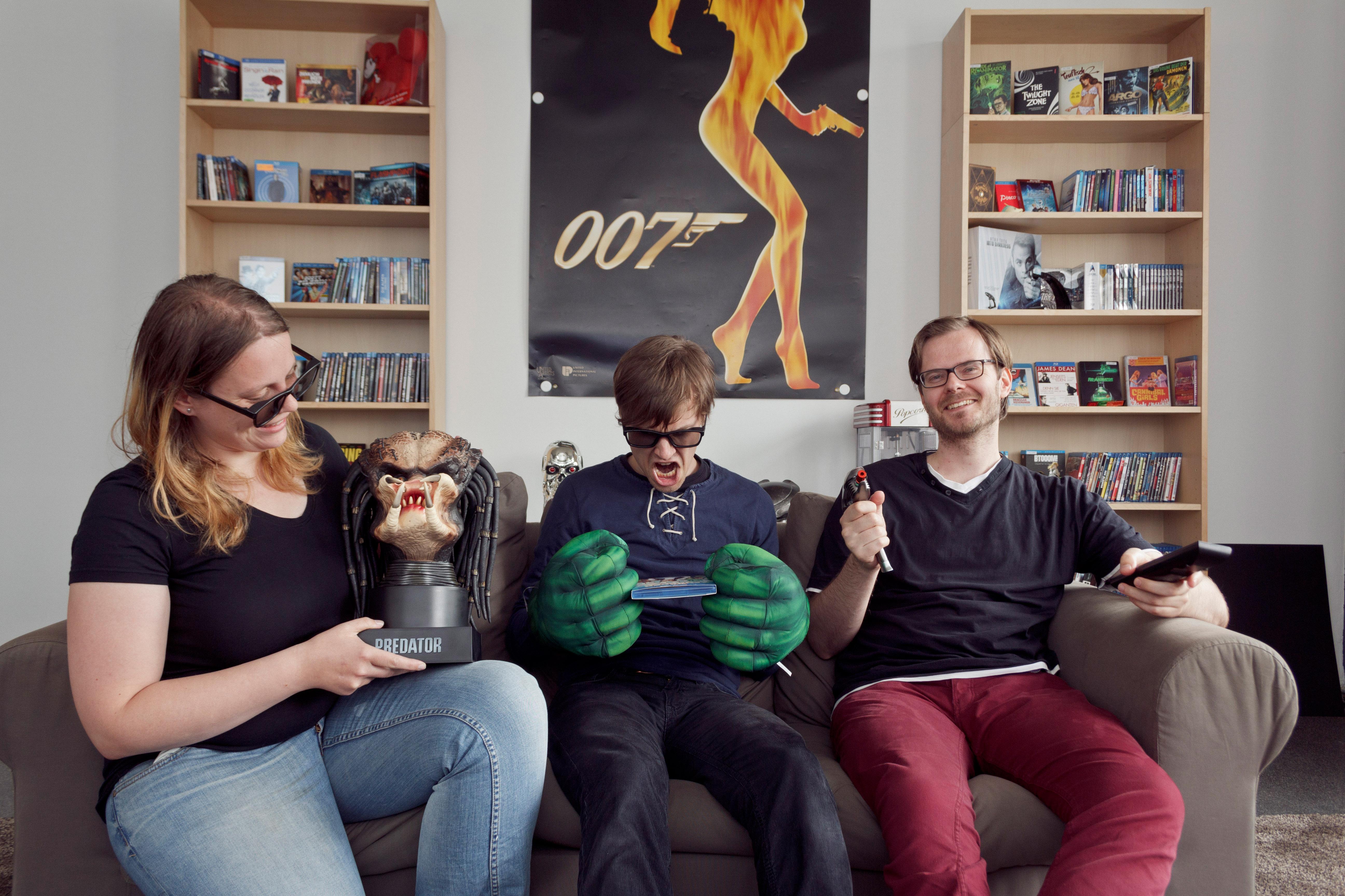 Dem Team des Blu-ray Magazins beim Testen über die Schulter geschaut