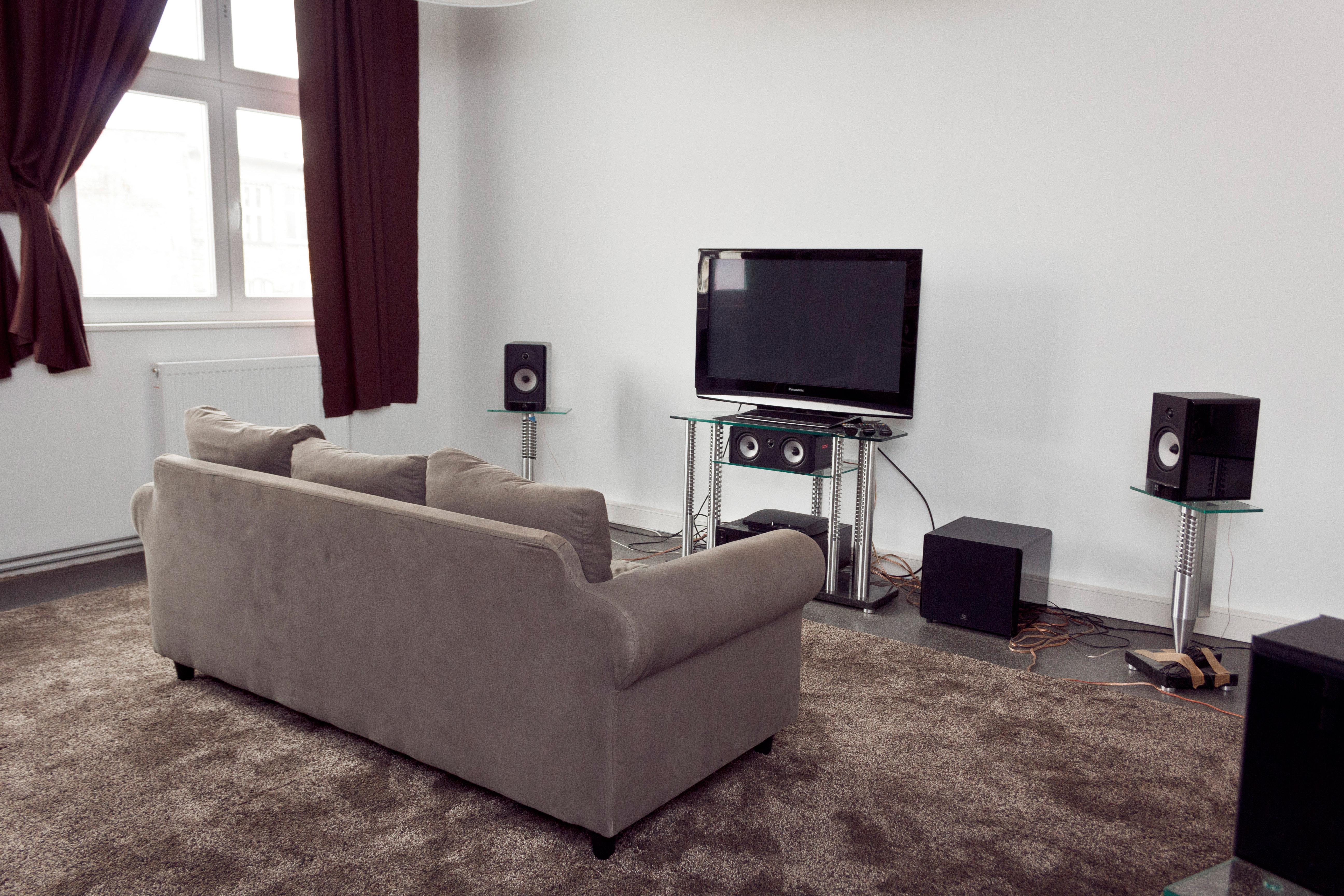 Das kleine Blu-ray-Test-Wohnzimmer