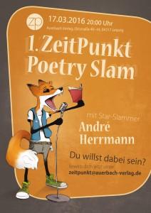 Mach mit beim ZeitPunkt Poetry Slam
