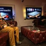 Knut Bastel im Gespräch mit dem Moderator des Abends, René Falkner