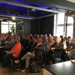 Volles Haus bei der 1. Ostdeutschen Kabelkonferenz OSKA in der Sky-Lounge des Auerbach Verlags